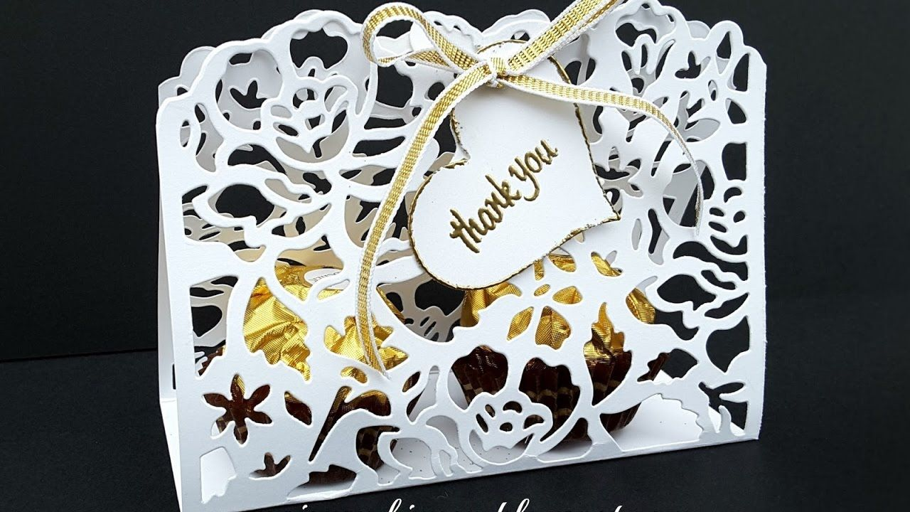Thank You Wedding Gift Ideas: DETAILED FLORAL THINLITS WEDDING GUEST THANK YOU GIFT IDEA