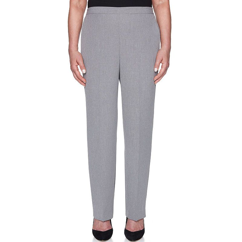 773397fdf33a38 Alfred Dunner Smart Investments Woven Pull-On Pants-Misses Short ...