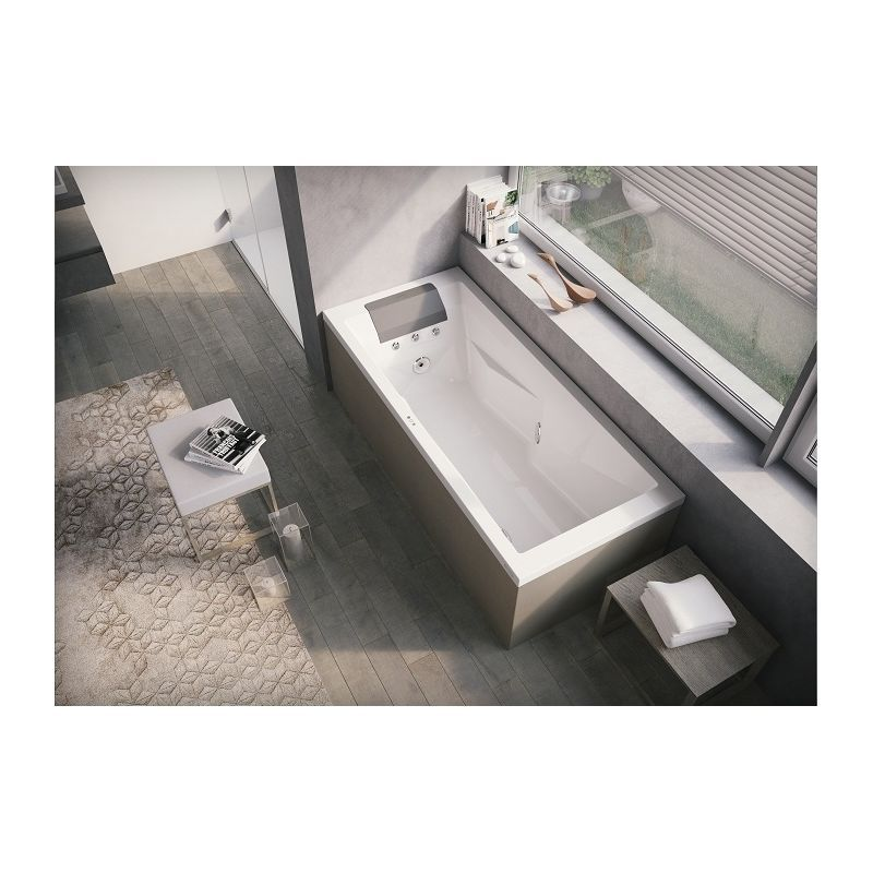 Baignoire Balneo Bathtub Bathroom