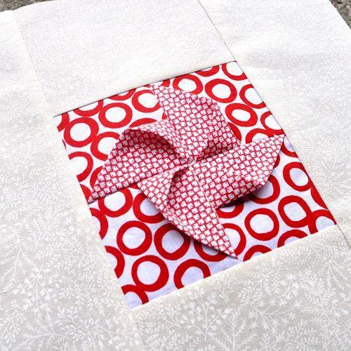 Block 22 Origami Pinwheel Textured Quilt Sampler Quilts