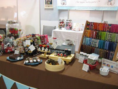 one table display for ideas for craft show display examples diy ideas