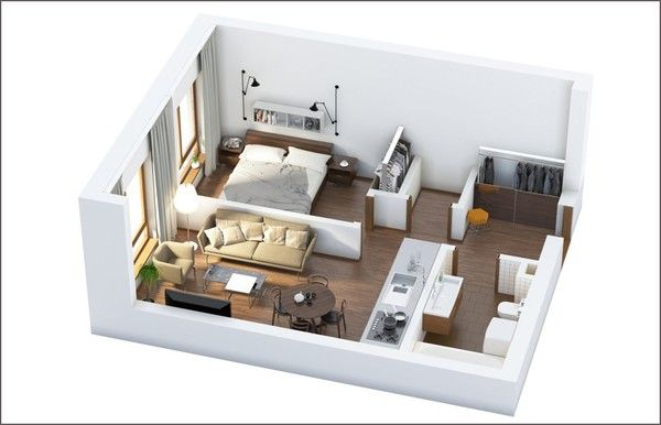 Studio Desain Rumah Rumah Kecil Dekorasi Rumah