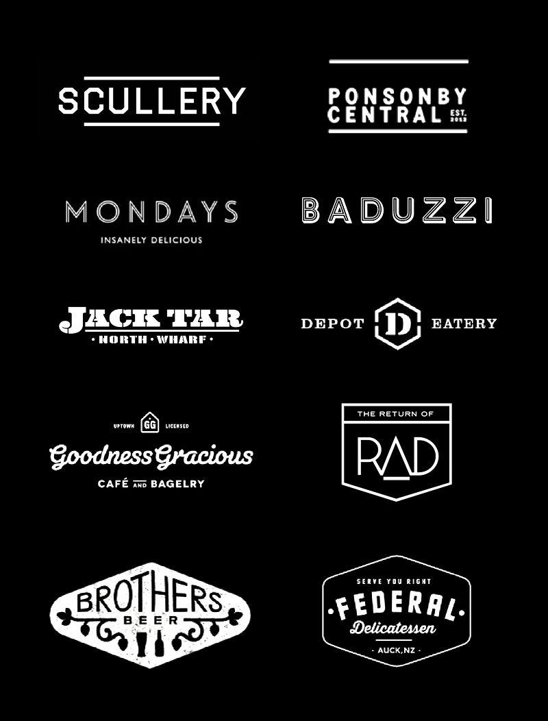 Hipster Logos Of Auckland Logo Restaurant Hipster Logo Restaurant Logo Design
