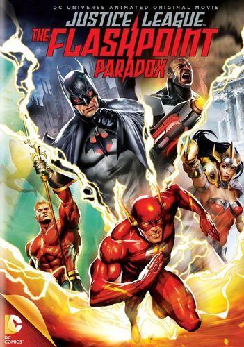 Justice League The Flashpoint Paradox Dvd 2013 Best Buy Ponto De Ignicao Filmes De Animacao Paradoxo