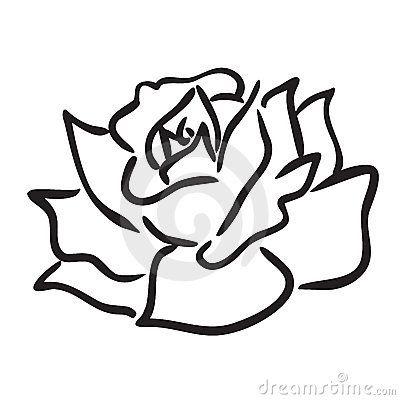 rosa desenho simples pesquisa google tatoo pinterest