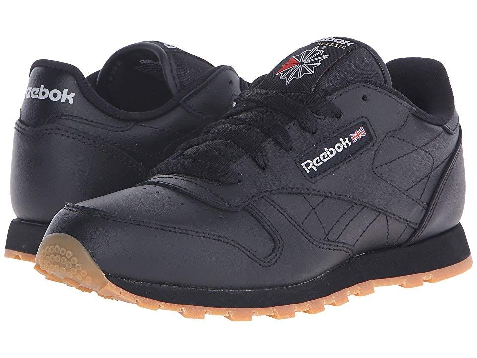 Reebok Kids Classic Leather (Big Kid) (Black Gum) Kids Shoes ... 0504c7b12