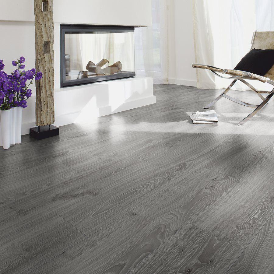 Shop kronotex raven ridge 7 4 in w x l timeless for Kronotex oak laminate flooring