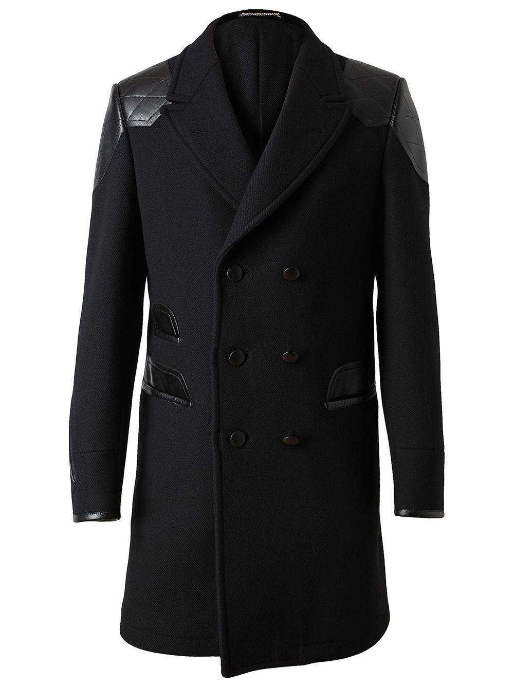 20196884718 Yves Saint Laurent | style | Coat dress, Mens wool coats, Fashion