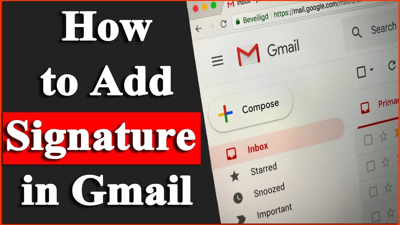 How To Add Signature In Gmail Gmail Mein Signature Kaise Add Karen In 2020 Add Signature Ads Gmail