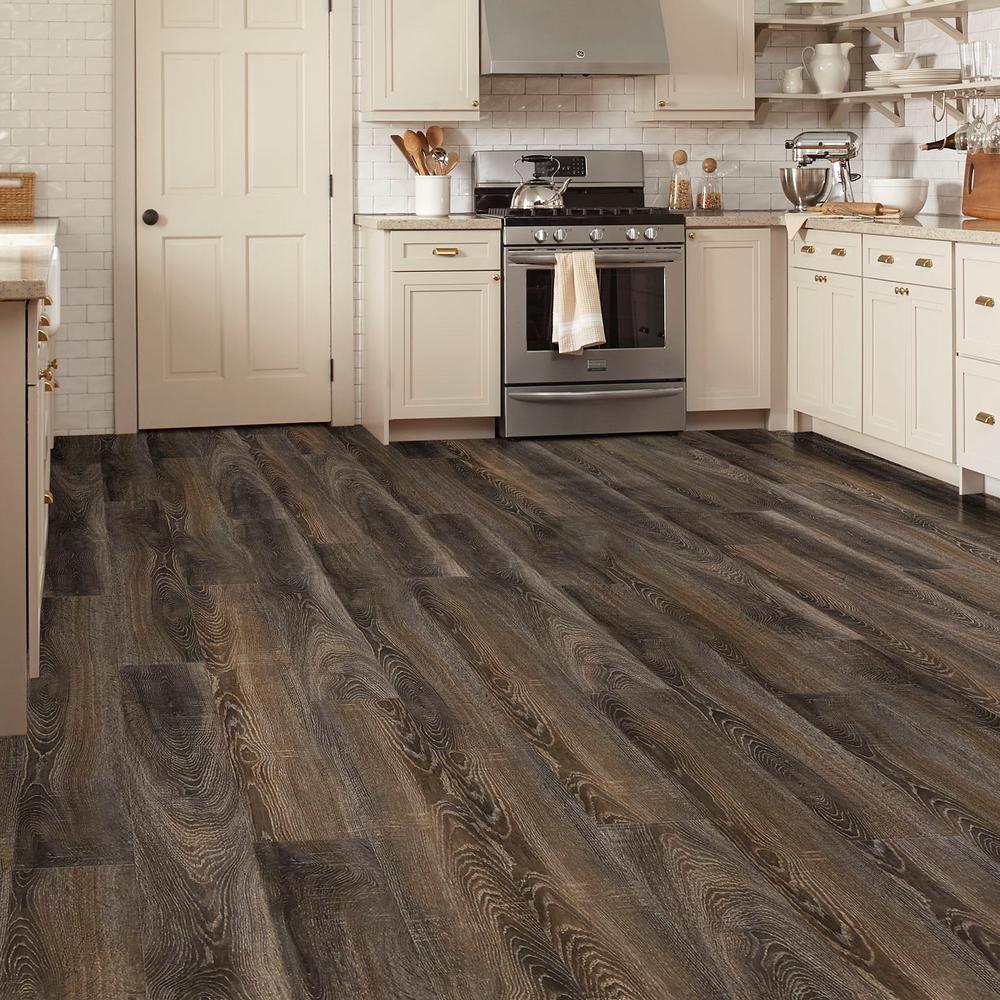 Lifeproof Carbillo Oak Water Resistant 12 Mm Laminate Flooring 16 80 Sq Ft Case Hl1311 The Home Depot Flooring Water Resistant Flooring Hardwood Floors