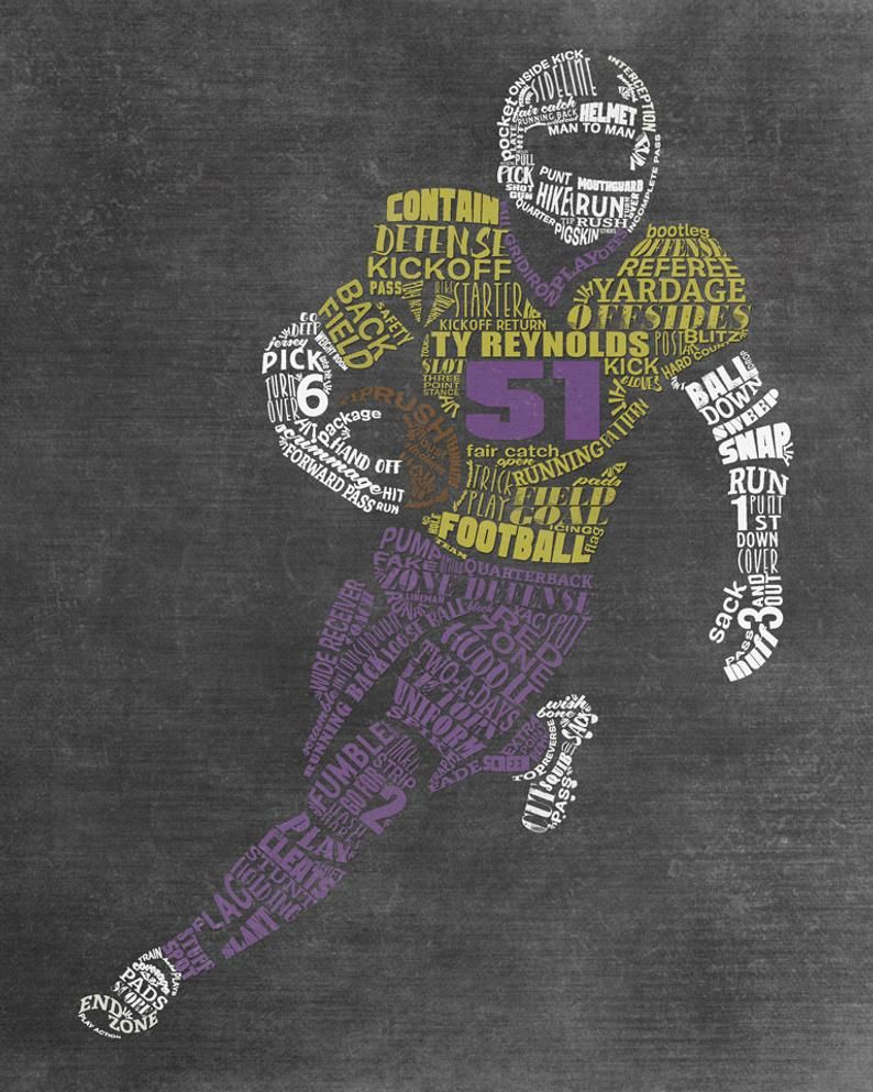 FOOTBALL Team Gift - Personalized Football Coach G