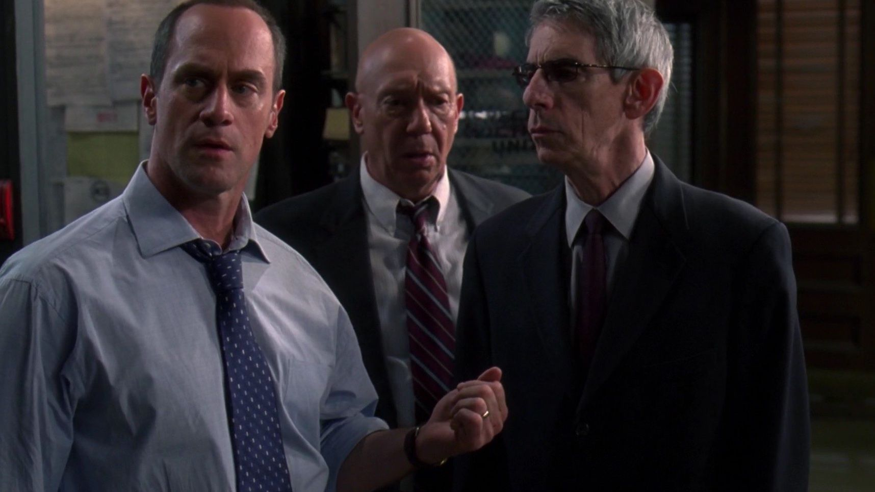 Detective Stabler Captain Cragen Sergeant Munch Law And Order Svu Special Victims Unit Law And Order