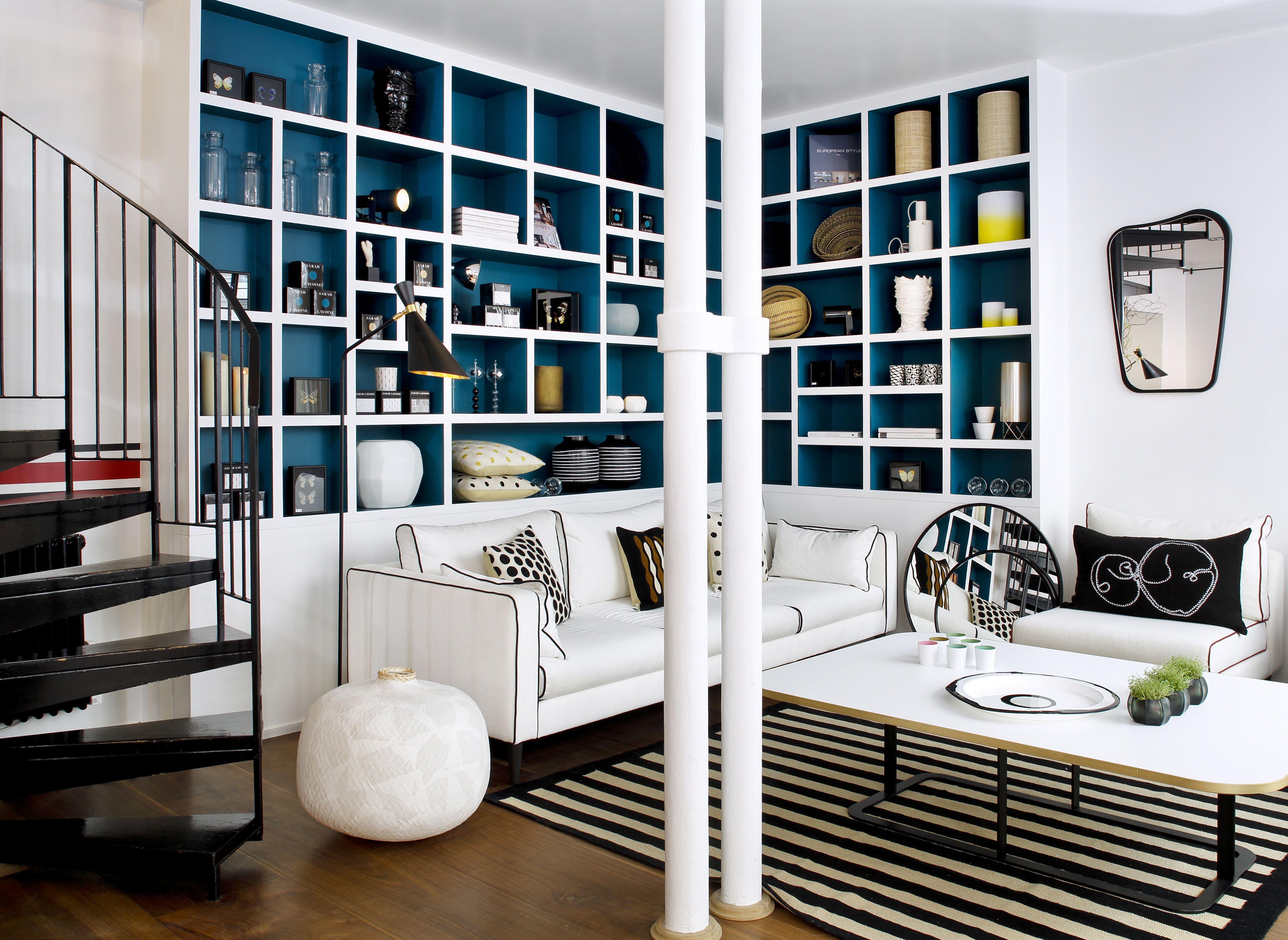 la biblioth que de la boutique sarah lavoine paris. Black Bedroom Furniture Sets. Home Design Ideas