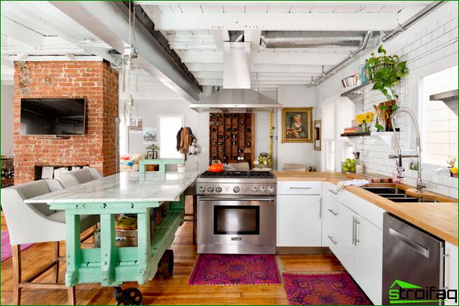 Küche Ohne Oberschränke: 75+ Erstaunliche Funktionelle Ideen