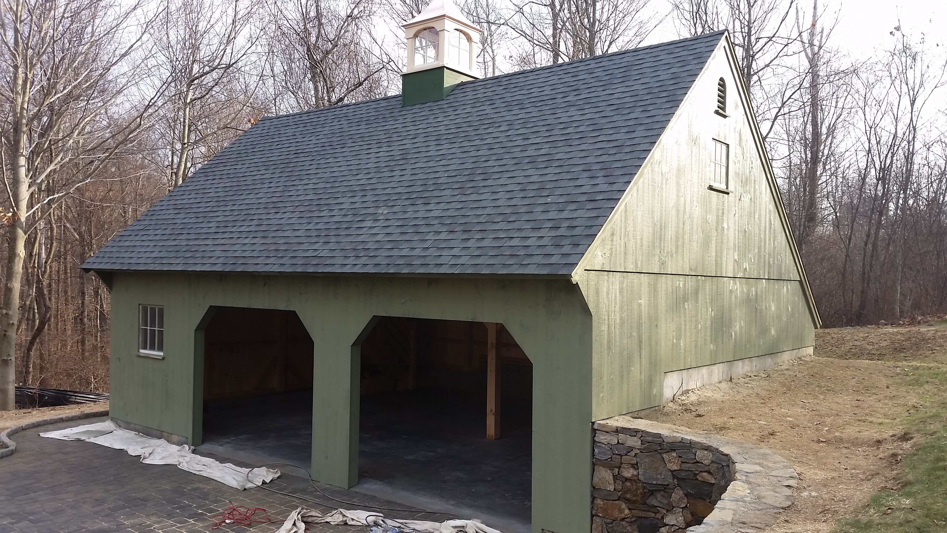 24'x 30' Post & Beam Carriage House