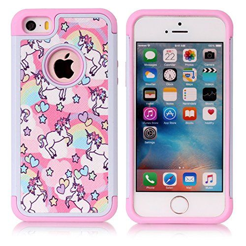 cover iphone se unicorno silicone