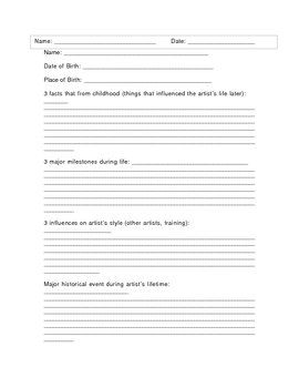 This Is A Short Worksheet Designed To Guide The Elementary