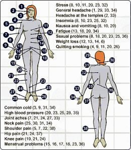 Sex pressure points locations
