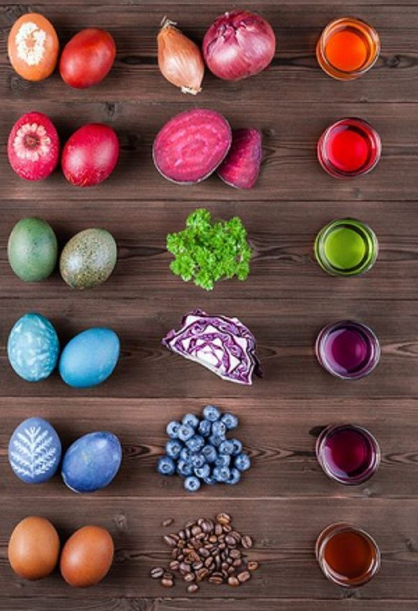 How to paint the Easter eggs with ecological methods – Practical ideas and tips