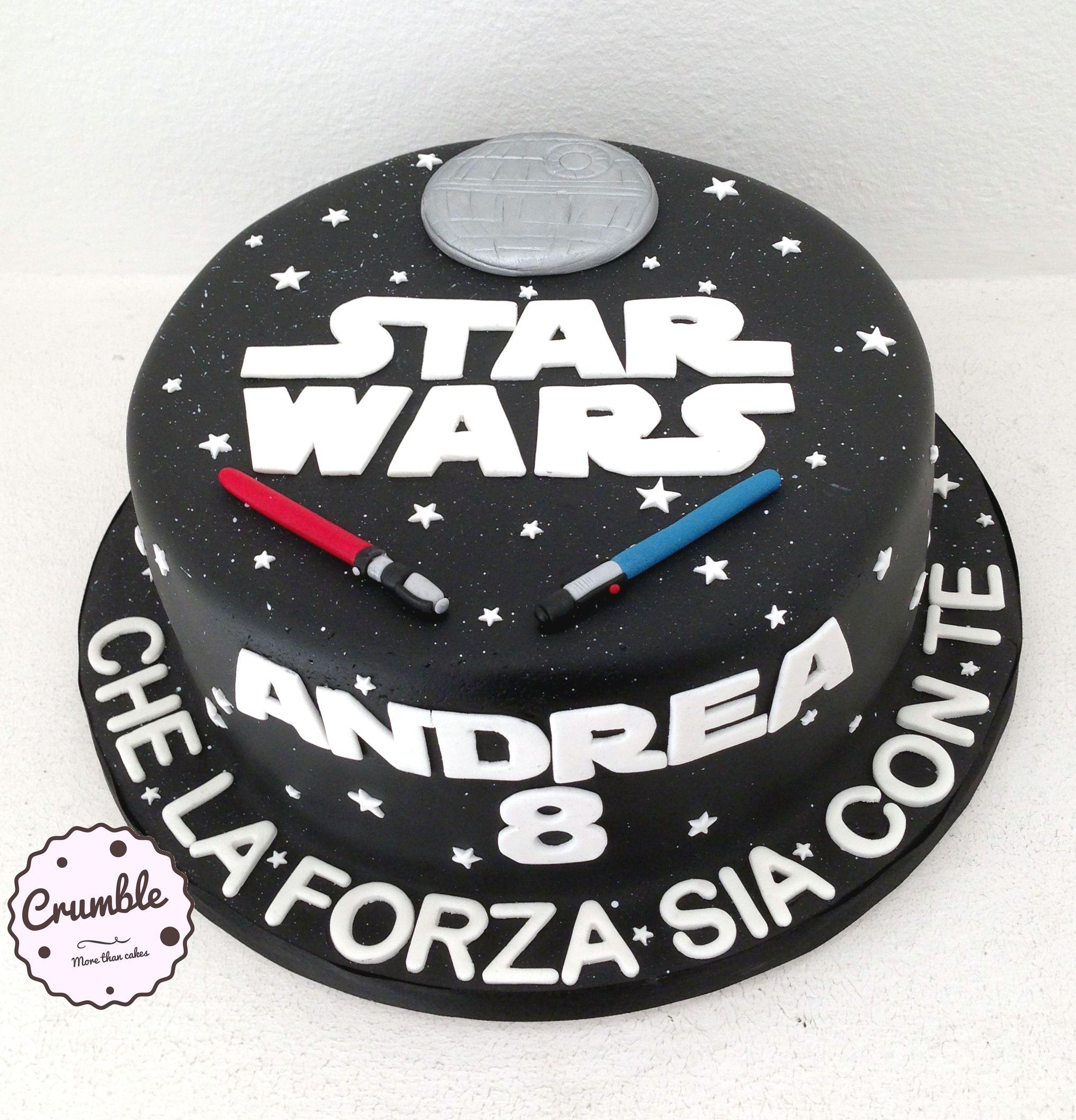 Torta Star Wars Per Andrea Starwars Compleanno Cakedesign