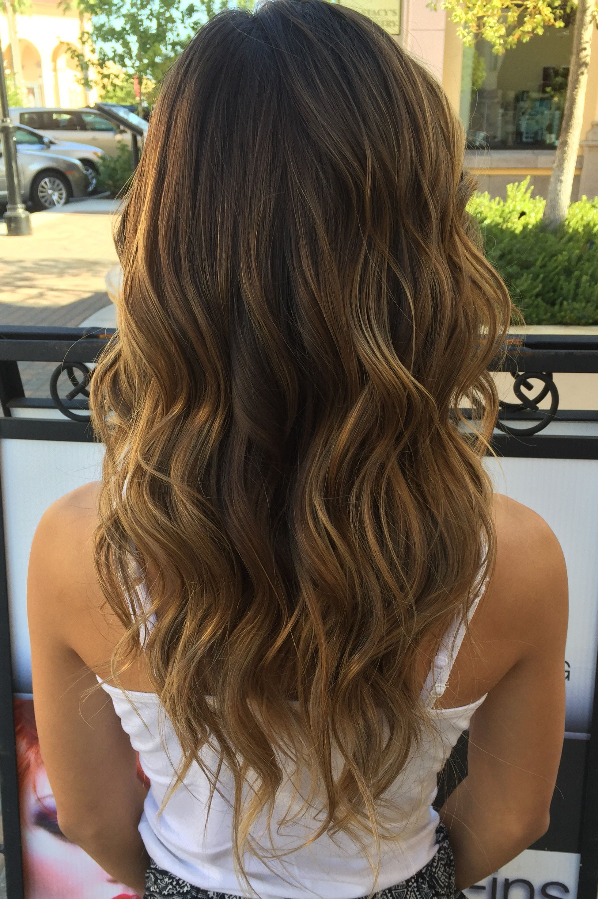 California Hair Carmel Highlights Long Layers California Hair Hair Hair Color