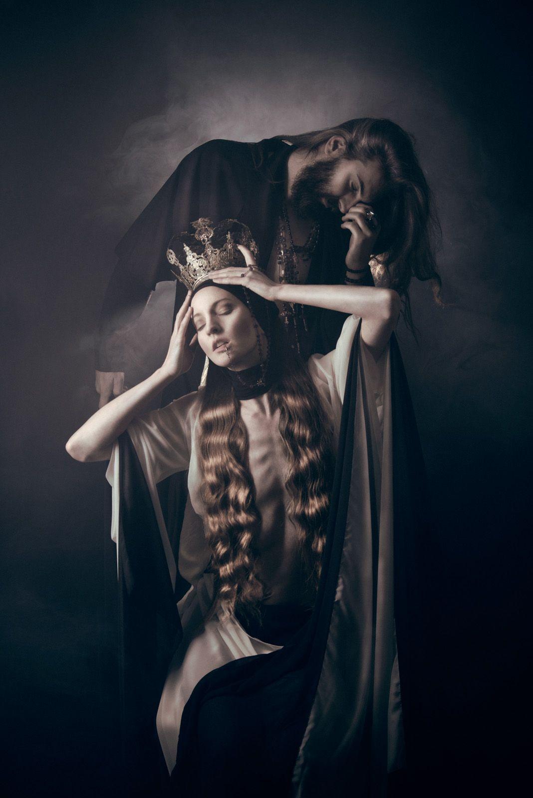 Темные Принцессы и сказочные миры в фотографиях Viona новые фото