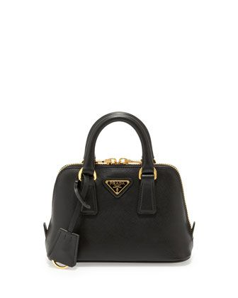 5557409aae03 Saffiano Mini Promenade Crossbody Bag, Black (Nero) by Prada at Neiman  Marcus.