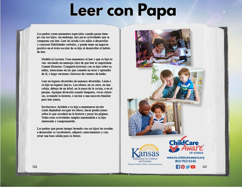 La Lampara Sas.Leer Con Papa Consumer Resources Child Care Aware Free