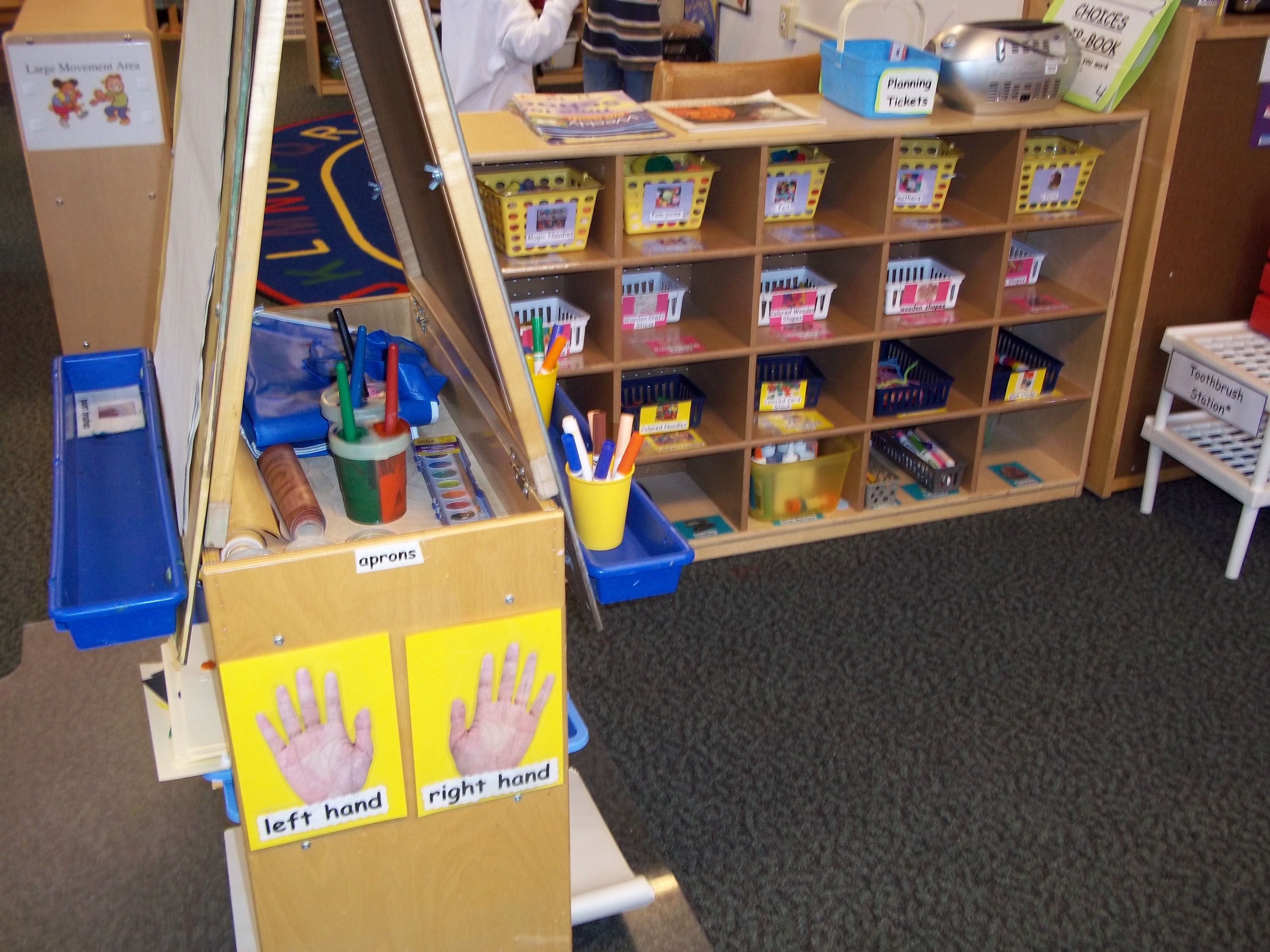 what preschools are in my area area varietly of materials labeled and accessible 708