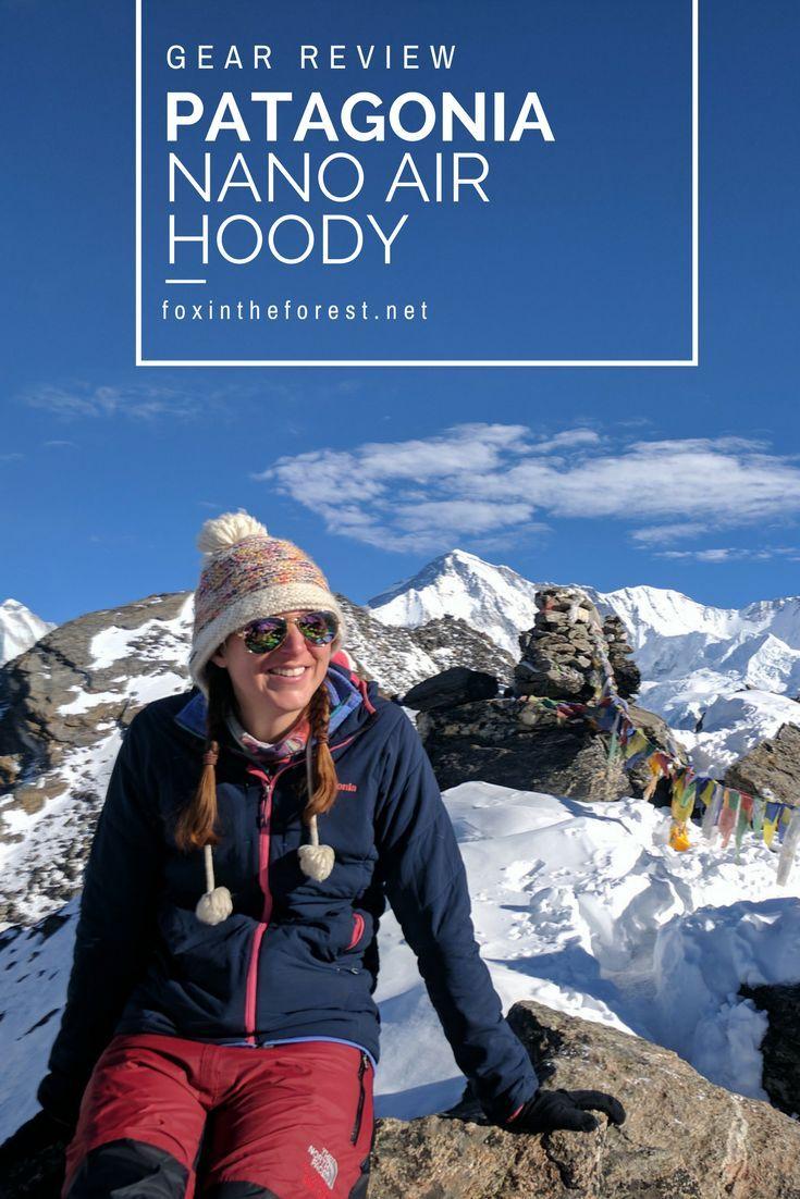 Gear Review Patagonia Nano Air Hoody Hiking gear