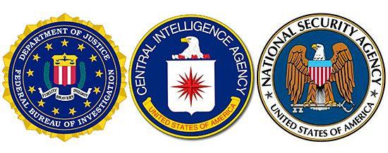 FBI CIA NSA logos   Stickers   Fbi cia, Logos, Stickers