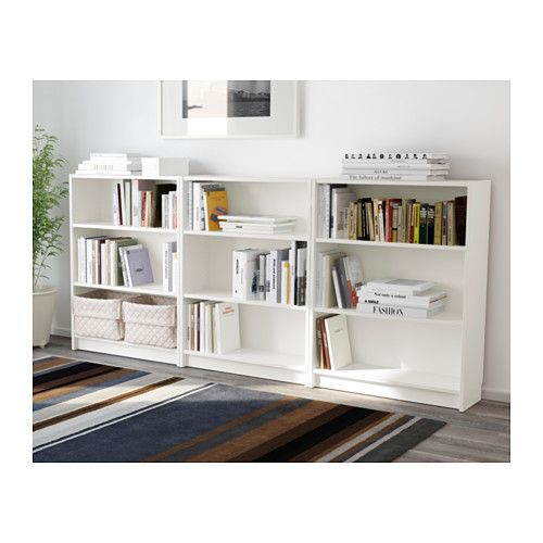 billy biblioth que blanc biblioth que blanche ikea et sous les toits. Black Bedroom Furniture Sets. Home Design Ideas