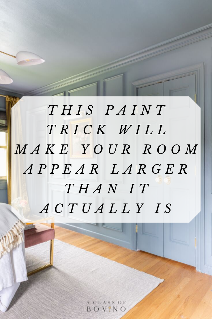 Best This Paint Trick Will Make Your Room Look Bigger Than It 400 x 300