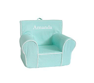 Aqua Mini Dot Anywhere Chair Pbkids Baby Room Kids