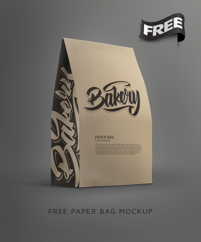 Free Paper Bag Mockup Psd Paper Bag Mockup Free Psd