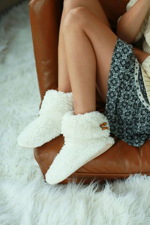 Soft Cuddly Slippers Slippers Winter Cozy Fuzzy Slippers