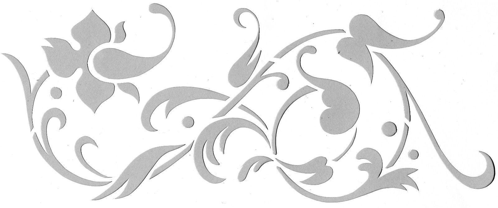 details zu 5x schablonenfolie din a4, wandtattoo schablone selber