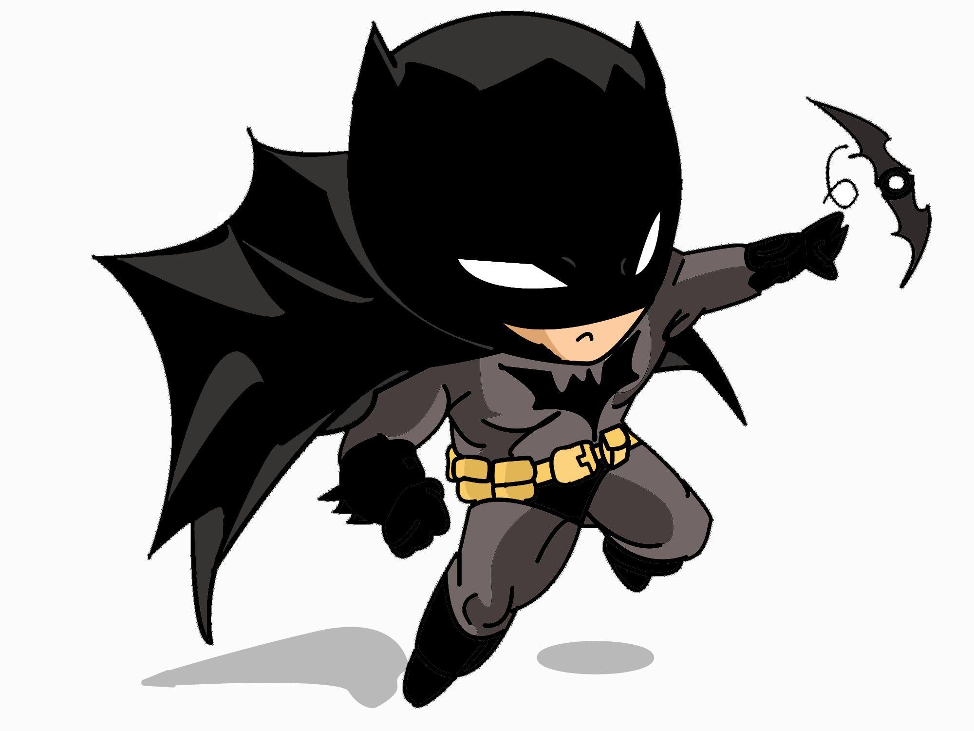 Dc Chibis Batman Chibi By TheCinnamonKoala
