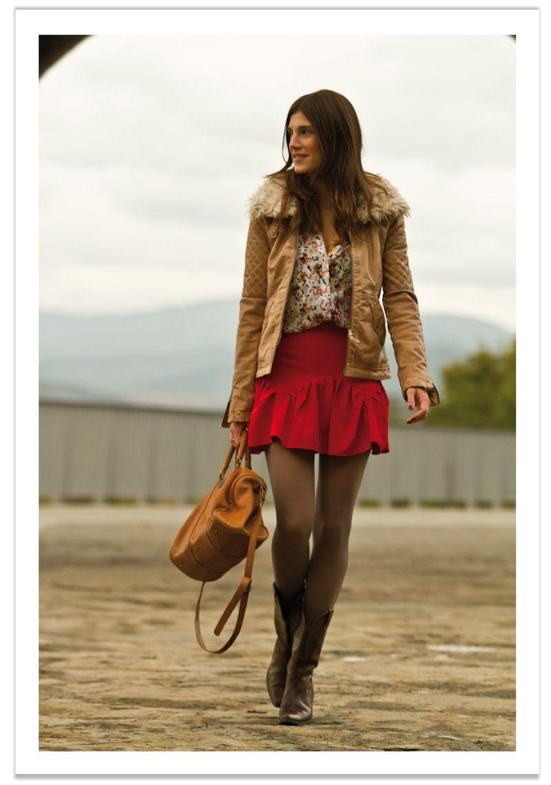 5abdf3ddd2 mini-falda-y-chaqueta-cuero-balamoda