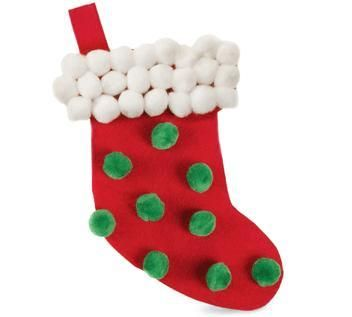 December crafts for preschoolers to make christmas is a for Stocking crafts for toddlers
