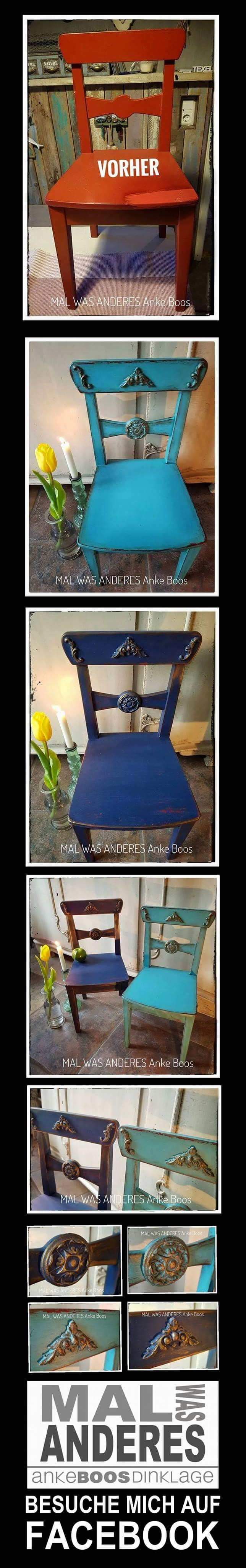 Before After Little Children Chairs Go Shabby
