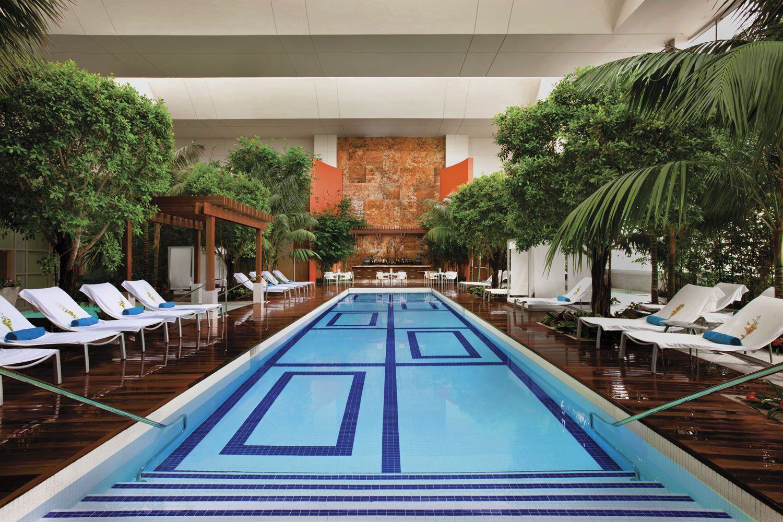 The Water Club Indoor Pool Atlantic City Winter Weekend Getaways Atlantic City Hotels