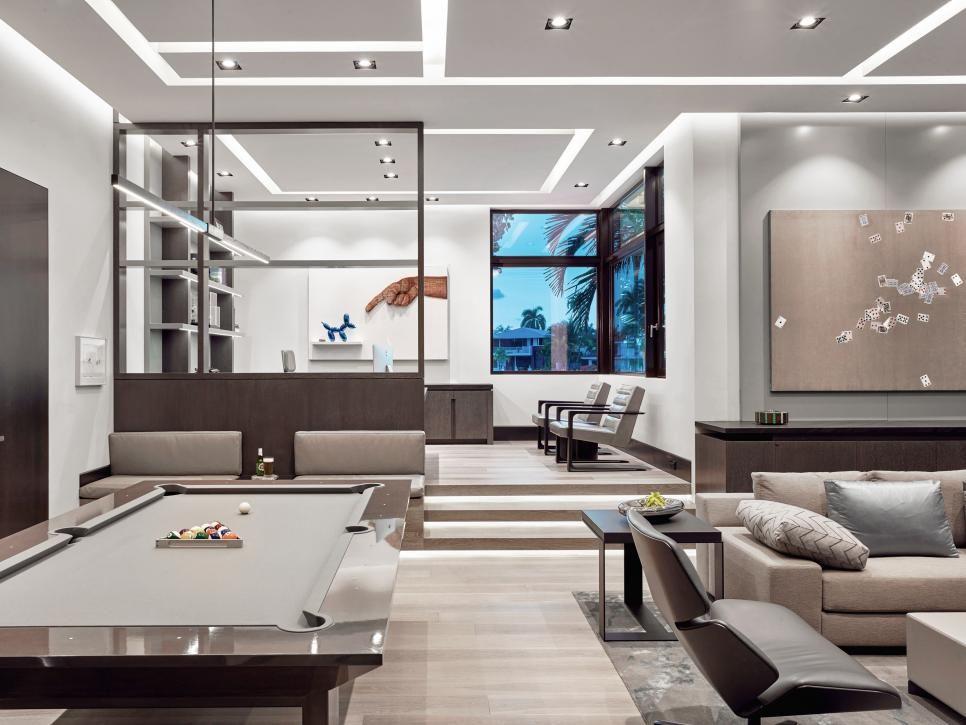 Game Room Design Ideas Hgtv Smart Home 2020 Hgtv In 2020 Game Room Design Room Design Interior Design Games