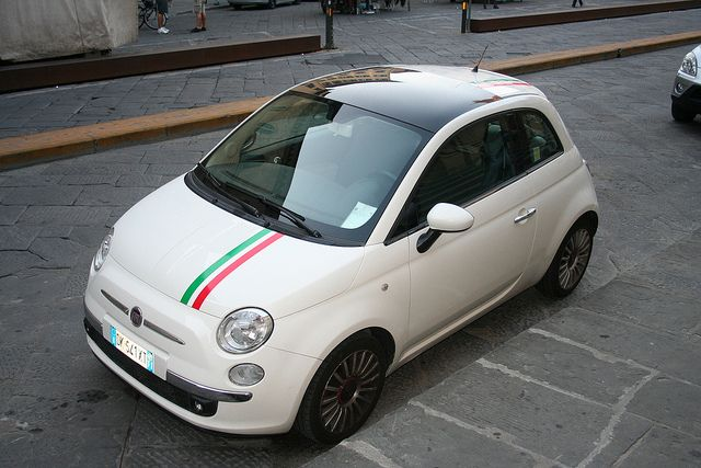 Image Result For Fiat 500 With Italian Stripes With Images