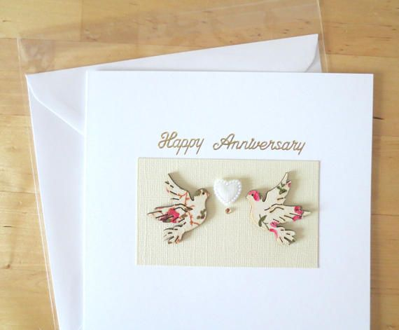 Anniversary Card For Her Wife Husband Him Parents Anniversary Cards For Husband Anniversary Cards Greeting Cards Handmade
