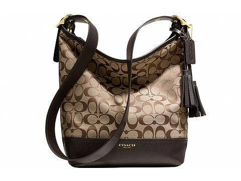 COACH Legacy Signature Duffle | Coach shoulder bag, Bags