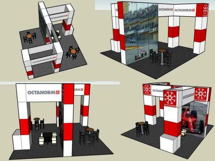 Renta de stands para expos congresos renta sistema for Disenos de stand para exposiciones