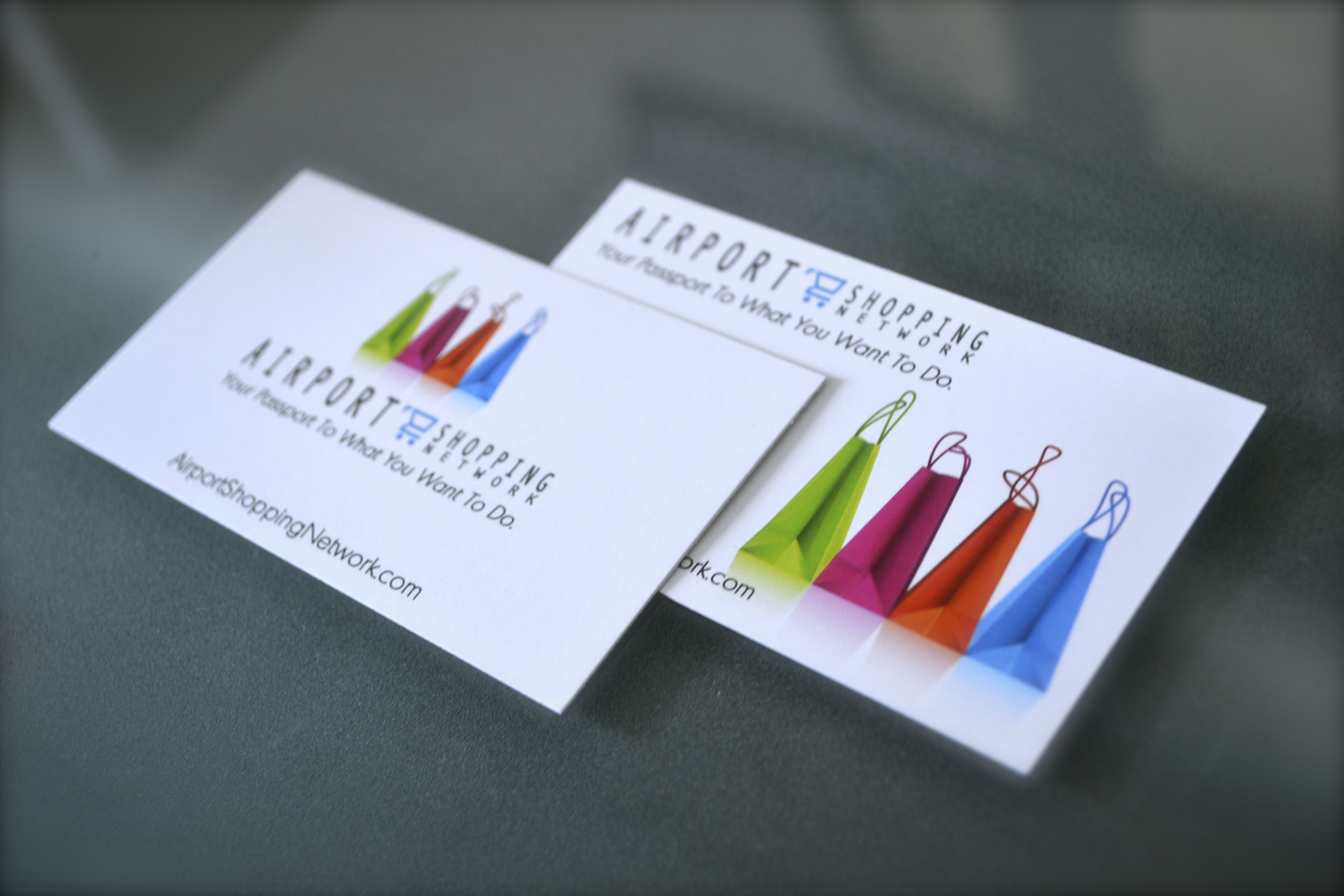Standard 16pt card stock business cards | Printing and Branding ...