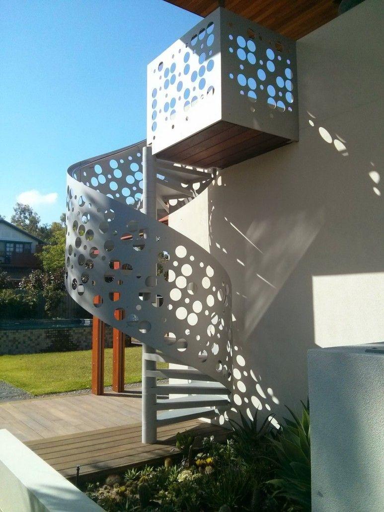 Best Universal Enclose Enzie Spiral Stairs Spiral Staircase 400 x 300