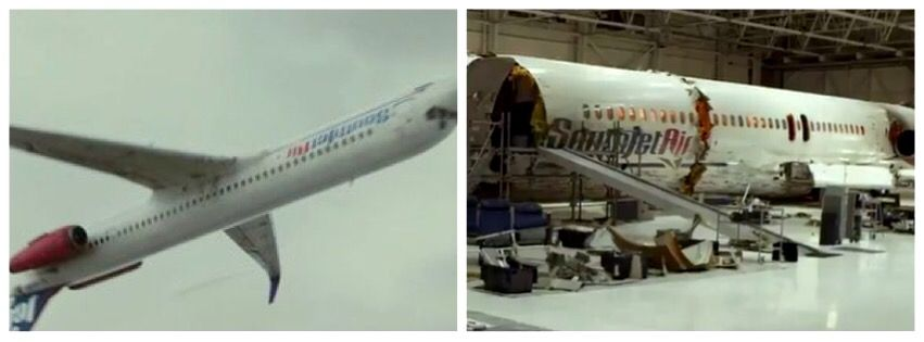 As seen in FLIGHT (2012) Multiple MD-80 family aircraft ...